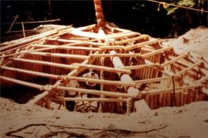 Pit House Construction